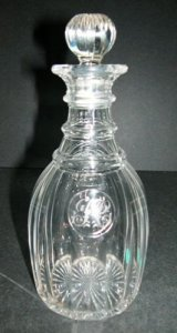 Peter Cherry Decanter with Stopper