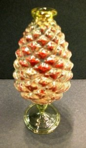 Pine-Shaped Vase or Bottle