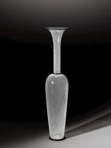 Small Almond Reticello Vase