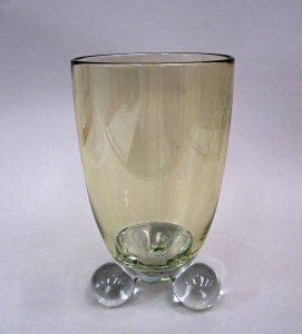 Vase with Ball-Shaped Feet Prototype