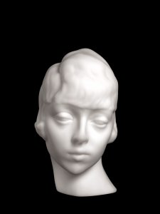 Sculpture, Head of a Woman