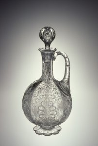 Engraved Ewer with Stopper