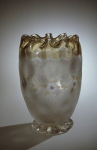 "Vase in ""Pomona"" Pattern"