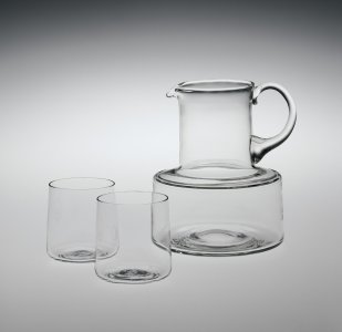 Pitcher and 2 Cups