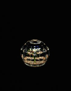 Paperweight with Upright Bouquet