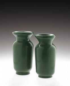 2 Vases Imitating Jade