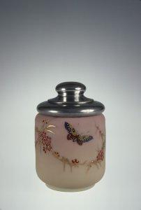 Burmese Jar with Metal Lid