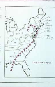 [Map 1, Path of Agnes] [slide].
