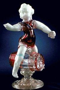 Figure of Bacchus on a Barrel