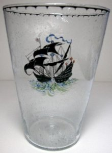 Vase with Galleon