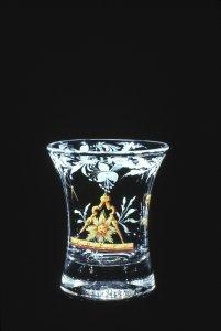 Masonic Dram Glass