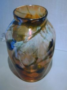 Favrile Paperweight Vase