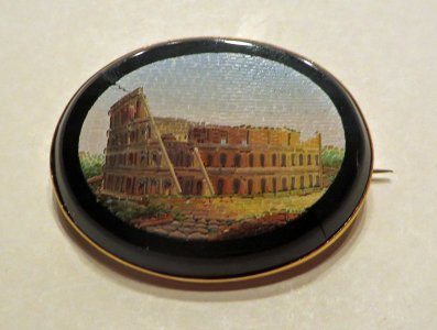 Brooch Depicting the Colosseum