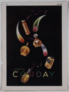 [Five perfumes by Corday] [advertisement].