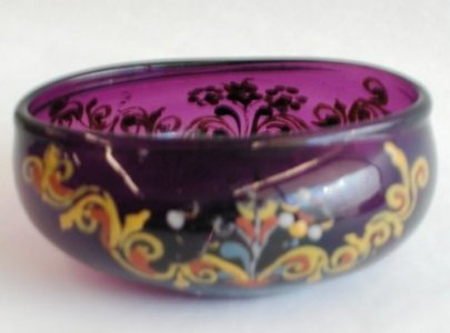 Oval Drinking Bowl