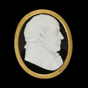 Cameo commemorating the British politician and abolitionist William Wilberforce (1759–1833)