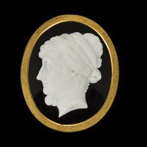 Cameo Commemorating the British Writer and Abolitionist Hannah More (1745–1833)