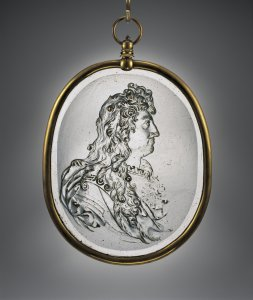 Medallion with Portrait of King Louis XIV of France