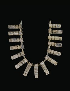 Necklace with Pendants and Beads