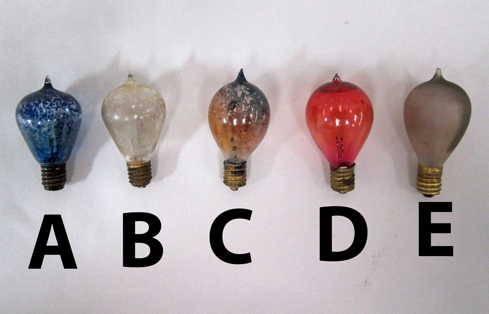 christmas tree light bulbs