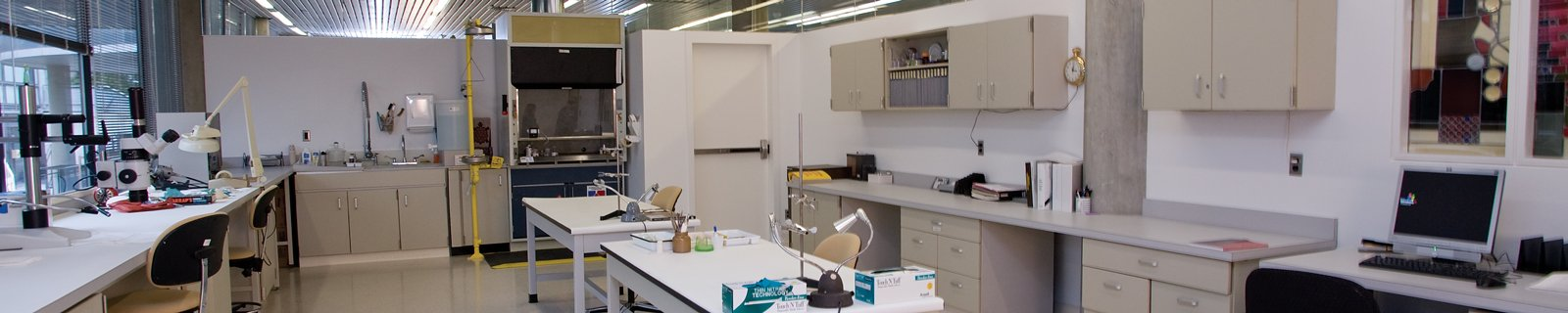 Conservation Lab at The Corning Museum of Glass