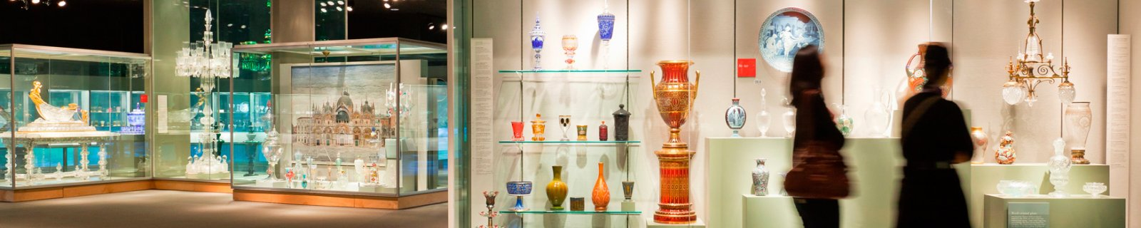 The Museum's Glass Collection showcases more than 35 centuries of glass artistry