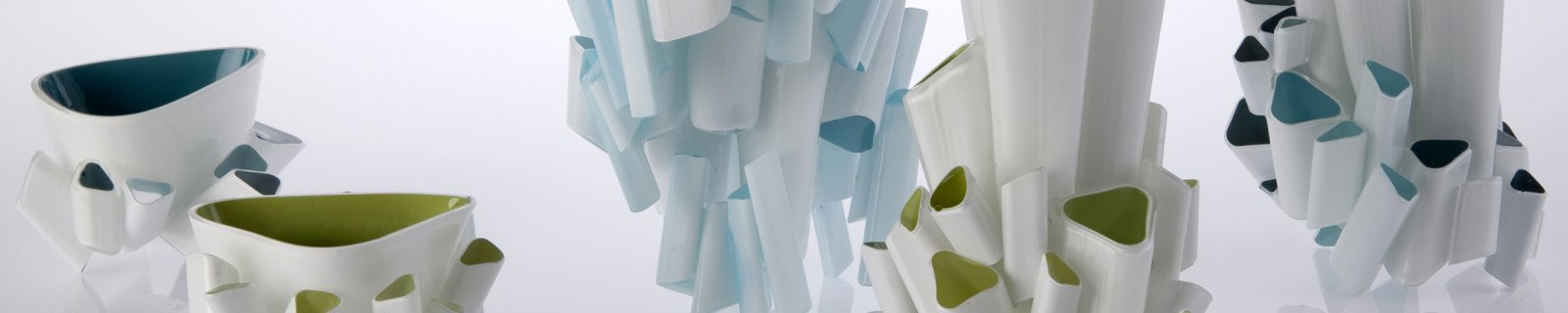 Crescita Range by Kristel Britcher, New Glass Review 37