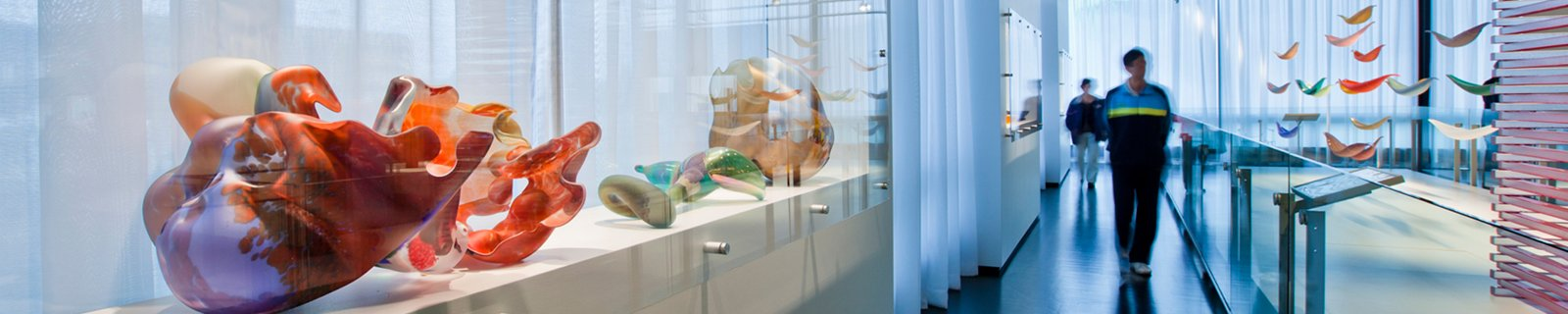 The Museum's collection is the most comprehensive collection of glass in the world.
