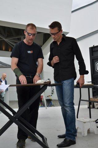 Designer Beat Karrer and Glassmaker Eric Meek discuss the design concept