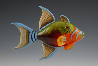 Queen Triggerfish by Kim Fields