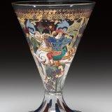 Footed Beaker with Standard-Bearer on Horseback (Copy of a Renaissance Goblet)