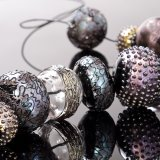 Flameworked Glass Beads