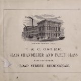 F. & C. Osler, glass chandelier and table glass manufacturers.