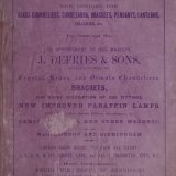 New designs for glass chandeliers, candelabra, brackets, pendants, lanterns, globes &c. for 1869 and '70.