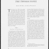 The Thomas Panel.