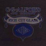 Rich cut glass.