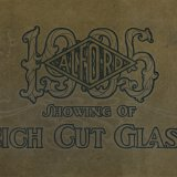 Our 1905 showing of rich cut glass.