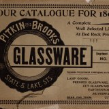 Glassware: our catalogue for 1897.
