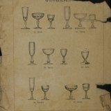 [Catalog of table glassware].