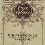 A distinctive line of cut glass.