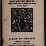 L'art en Alsace: exposition organisée / sous le patronage de la Société des Amis des Arts de Strasbourg.
