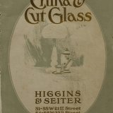 China & cut glass, catalog no. 20.