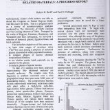 Strontium-Isotope Studies of Historical Glasses and Related Materials: A Progress Report.