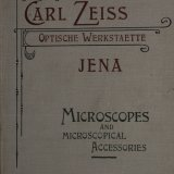 Carl Zeiss Optische Werkstaette Jena: microscopes and microscopic accessories / Carl Zeiss.