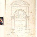 Muséum sacré: Description de l'église métropolitaine du diocèse d'Auch / dessinée par G. G. Lettu.