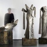 Nocturnes Installation in white bronze. Photography: Martin Polak. Provided by Karen LaMonte.