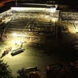 North Wing Addition Concrete Pour Time-Lapse