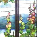 Tiffany Landscape Window