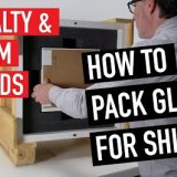 Specialty & Custom Packing Glass for Shipping