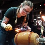 Megan Stelljes Guest Artist Demonstration at 2300°